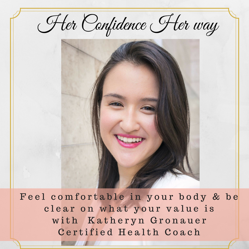 036: Feel comfortable in your body and be clear on what your value is with Katheryn Gronauer |Certified Health Coach|Writer|Entrepreneur