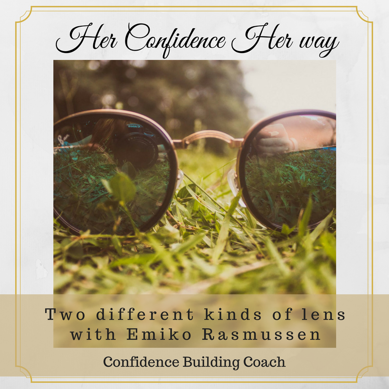 041:Two different kinds of lenses ー with Emiko Rasmussen  Confidence Building Coach intercultural competence 