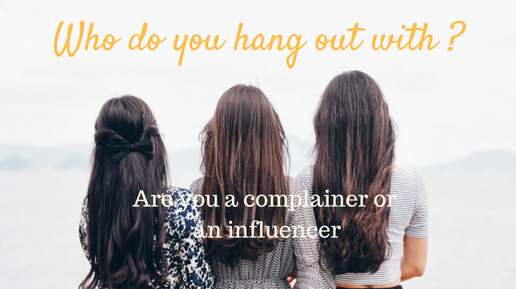 Who do you hang out with ?